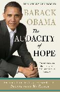 Cover-Bild zu Obama, Barack: The Audacity of Hope: Thoughts on Reclaiming the American Dream