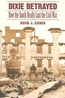 Cover-Bild zu Dixie Betrayed von Eicher, David J.