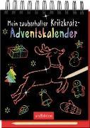 Cover-Bild zu Mein zauberhafter Kritzkratz-Adventskalender