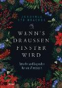 Cover-Bild zu Wenn's draußen finster wird von Steinbacher, Dorothea