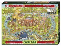 Cover-Bild zu Australian Habitat Puzzle von Degano, Marino