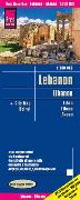 Cover-Bild zu Peter Rump, Reise Know-How Verlag: Reise Know-How Landkarte Libanon / Lebanon (1:200.000). 1:200'000