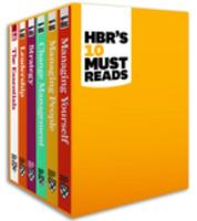 Cover-Bild zu HBR's 10 Must Reads Boxed Set (6 Books) (HBR's 10 Must Reads) (eBook) von Review, Harvard Business