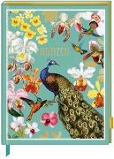 Cover-Bild zu Notizbuch mit glitzerndem Stoffeinband - Edition Barbara Behr von Behr, Barbara (Illustr.)