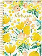 Cover-Bild zu Ringbuch DIN A4 - All about yellow - Notizen