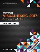 Cover-Bild zu Microsoft Visual Basic 2017 for Windows Applications: Introductory von Hoisington, Corinne