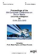 Cover-Bild zu ECSM 2019 - Proceedings of the 6th European Conference on Social Media von Francis, Stuart (Hrsg.)
