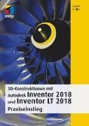 Cover-Bild zu 3D-Konstruktionen mit Autodesk Inventor und Inventor LT 2018 (eBook) von Ridder, Detlef