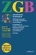 Cover-Bild zu ZGB von Sutter-Somm, Thomas