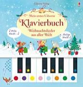 Cover-Bild zu Mein erstes Usborne-Klavierbuch: Weihnachtslieder aus aller Welt