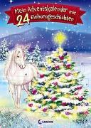 Cover-Bild zu Mein Adventskalender mit 24 Einhorngeschichten