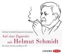 Cover-Bild zu Auf eine Zigarette mit Helmut Schmidt