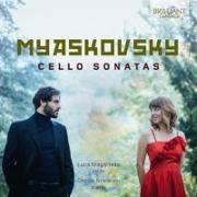 Cover-Bild zu Myaskovsky : Cello Sonatas