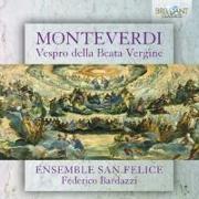 Cover-Bild zu Monteverdi: Vespro Della Beata Vergine