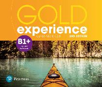 Cover-Bild zu Gold Experience 2nd Edition B1+ Class Audio CDs von Beddall, Fiona