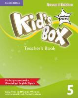 Cover-Bild zu Kid's Box American English Level 5 Teacher's Book von Frino, Lucy