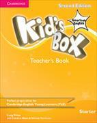 Cover-Bild zu Kid's Box American English Starter Teacher's Book von Frino, Lucy