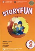 Cover-Bild zu Storyfun for Starters 2 Teacher's Book von Saxby, Karen