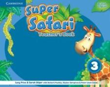 Cover-Bild zu Super Safari Level 3 Teacher's Book von Frino, Lucy