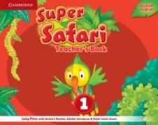 Cover-Bild zu Super Safari Level 1 Teacher's Book von Frino, Lucy