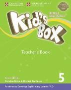 Cover-Bild zu Kid's Box Level 5 Teacher's Book American English von Frino, Lucy