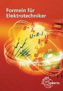 Cover-Bild zu Formeln für Elektrotechniker von Isele, Dieter