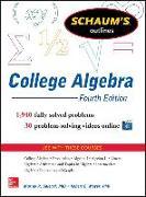 Cover-Bild zu Schaum's Outline of College Algebra