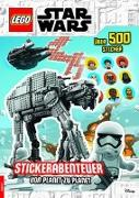 Cover-Bild zu LEGO® Star Wars? - Stickerabenteuer - von Planet zu Planet