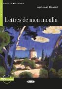 Cover-Bild zu Lettres de mon moulin. Buch + Audio-CD von Daudet, Alphonse