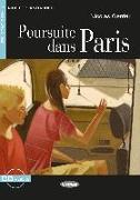 Cover-Bild zu Poursuite dans Paris. Buch + Audio-CD von Gerrier, Nicolas