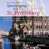 Cover-Bild zu Spaziergang durch Sankt Petersburg. CD