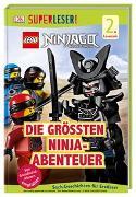 Cover-Bild zu SUPERLESER! LEGO® NINJAGO® Die größten Ninja-Abenteuer