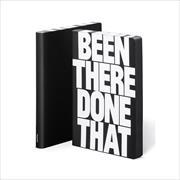 Cover-Bild zu BEEN THERE DONE THAT GRAPHIC L Black Smooth Bonded Leather