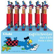 Cover-Bild zu Kugelschreiber Globi rot Display à 24 Stk