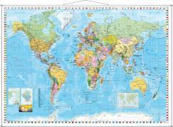 Cover-Bild zu Weltkarte englisch