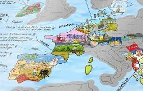 Cover-Bild zu Travelmap Scratch Edition - Die Highlights des Planeten, illustriert im Weltkartenformat