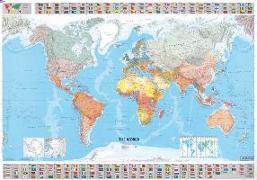 Cover-Bild zu Michelin Welt. Plano. Politisch. 1 : 28 500 000