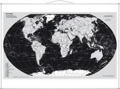 Cover-Bild zu Weltkarte Silberedition. Wandkarte
