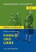 Cover-Bild zu Kabale und Liebe von Schiller, Friedrich