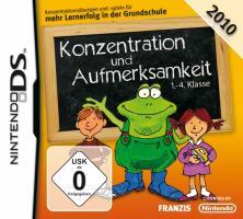 Cover-Bild zu Konzentration und Aufmerksamkeit 1.-4. Klasse 2010
