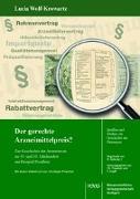 Cover-Bild zu Wolf-Krowartz, Lucia: Der gerechte Arzneimittelpreis?
