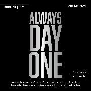 Cover-Bild zu Always Day One (Audio Download) von Kantrowitz, Alex