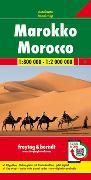Cover-Bild zu Freytag-Berndt und Artaria KG (Hrsg.): Marokko, Autokarte 1:800.000 - 1:2.000.000. 1:800'000