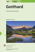 Cover-Bild zu Gotthard. 1:50'000