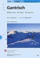 Cover-Bild zu Gantrisch. 1:50'000