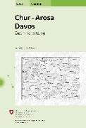 Cover-Bild zu Chur, Arosa, Davos. 1:50'000