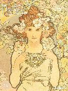 Cover-Bild zu Mucha, Alfons: Mucha 2021 - Kunst-Kalender - Poster-Kalender - 48x64