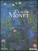 Cover-Bild zu Monet, Claude: Claude Monet 2022 - Kunst-Kalender - Poster-Kalender - 48x64