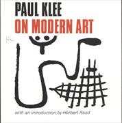 Cover-Bild zu Klee, Paul: Paul Klee on Modern Art