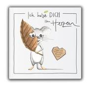 Cover-Bild zu Ich habe dich im Herzen von Jenni-Furrer, Petra